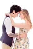 Abarcamiento lesbiano de los pares Imagen de archivo libre de regalías