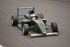 Abarrote de la prueba del coche de la fórmula 4 del Motorsport en Monza Imagen de archivo libre de regalías