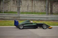 Abarrote de la prueba del coche de la fórmula 4 del Motorsport en Monza Fotografía de archivo libre de regalías
