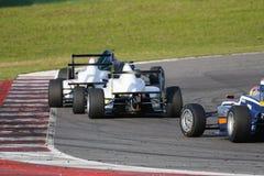 Abarth供给动力的意大利F4冠军 库存照片