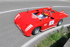 Abarth 2000 -1969 -Vernasca Silver Flag 2011 Royalty Free Stock Photography