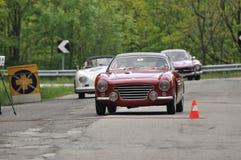 Abarth 205, Porsche en Mercedes Gullwing Stock Afbeelding