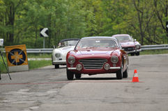 Abarth 205, Porsche and Mercedes Gullwing Stock Image