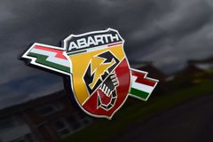 Abarth Royaltyfria Bilder