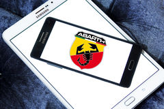 Abarth-Autologo Stockbild