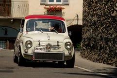 Abarth 695 Bergamo historischer Grandprix 2017 Lizenzfreies Stockbild