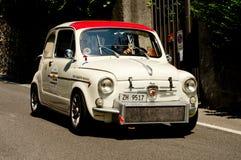 Abarth 695 Bergamo historisk grand prix 2017 Arkivfoton