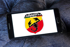 Abarth car logo Royalty Free Stock Photo