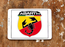 Abarth car logo Royalty Free Stock Image
