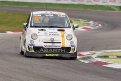 Abarth Itália & troféu de Europa Imagem de Stock Royalty Free