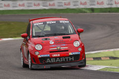Abarth Itália & troféu de Europa Imagens de Stock