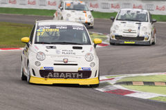 Abarth Italie et trophée de l'Europe Photographie stock libre de droits