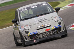 Abarth Italie et trophée de l'Europe Photos libres de droits