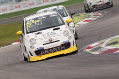 Abarth Italie et trophée de l'Europe Photos stock