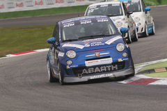 Abarth Italie et trophée de l'Europe Images stock