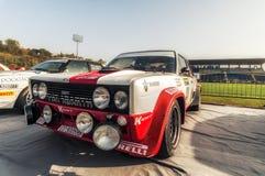 Abarth San Marino am 21. Oktober 2017 - Fiat 131 an der Sammlung die Legende Stockbild