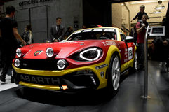 Abarth 124 Spider at Geneva 2016 Royalty Free Stock Images