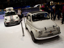 Abarth-Tradition Genf 2014 Stockfotos