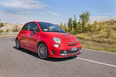 Abarth 695 Tributo Ferrari Stockfoto