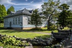 Abashiri Prison, Hokkaido, Japan stock photos