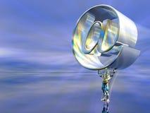 Abastecedor del mail server Imagenes de archivo