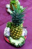 Abastecimento - abacaxi Fotos de Stock Royalty Free