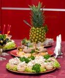 Abastecimento - aperitivo 2 da mistura da salada do cogumelo Foto de Stock