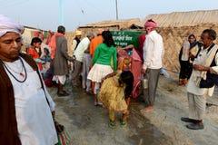 Abastecimento de água na terra justa Imagens de Stock Royalty Free