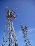 Abastecimento de energia Fotos de Stock Royalty Free