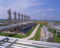 Abastecimento de gás Foto de Stock