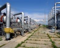 Abastecimento de gás Imagens de Stock