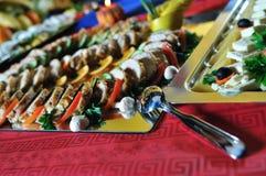 Abastecimiento alimento fresco y teasty Imagen de archivo libre de regalías