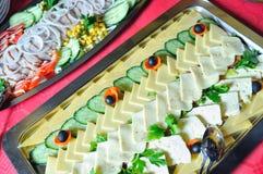 Abastecimiento alimento fresco y teasty Fotos de archivo libres de regalías