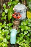 Abastecimiento de agua Imagen de archivo libre de regalías