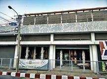 Abastecimiento de agua del edificio en Bangkok Imágenes de archivo libres de regalías