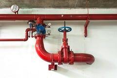 Abastecimiento de agua del fuego Fotos de archivo