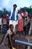 Abastecimiento de agua en Rwanda Imagen de archivo