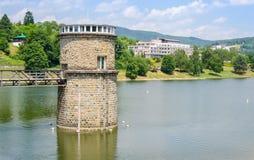 Abastecimiento de agua Luhacovice, República Checa Fotos de archivo libres de regalías