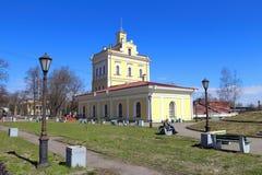 Abastecimiento de agua urbano de la torre y museo arquitectónico histórico de Fotos de archivo libres de regalías