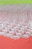 Abastecimiento de cristal Foto de archivo libre de regalías