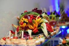Abastecimiento de la comida Fotografía de archivo libre de regalías