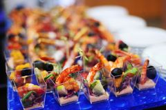 Abastecimiento de la comida Fotos de archivo libres de regalías