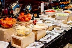 Abastecimiento de la comida fría Fotos de archivo
