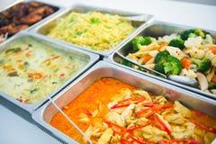 Abastecimiento de la comida fría de la comida en restaurante Imágenes de archivo libres de regalías