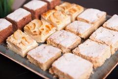 Abastecimiento de la comida fría, en la tabla Fotografía de archivo libre de regalías