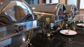 Abastecimiento de la comida fría de la comida interior en restaurante de lujo en el hotel para nosotros Fotos de archivo
