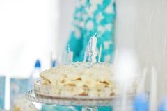 Abastecimiento de la fiesta de cumpleaños Imágenes de archivo libres de regalías