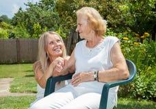Abastecimiento del cuidado para los ancianos Imagen de archivo