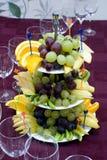 Abastecimiento - frutas allsorts Foto de archivo libre de regalías