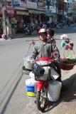 Abastecimiento móvil, Vietnam Imagen de archivo